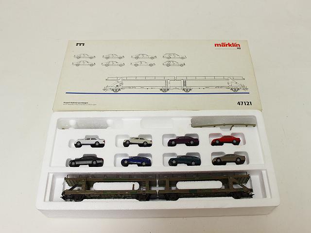 メルクリン HO47121 メルセデスベンツ8台+輸送車